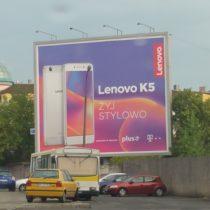 Backlight, format 8x16m., Braughman Media dla Lenovo