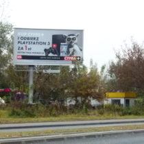 Backlite 8x4m., Canal+ Dom Mediowy Starcom