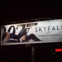 Billboard 12x3m. Stroeer_OMD dla Sky Fall