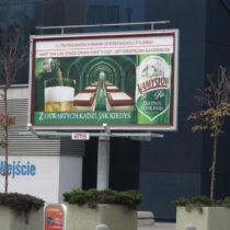 Billboard 6x3 Browar Namysłów dostawca AMS
