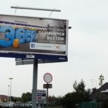 Billboard 6x3m Kampania PKP Intercity