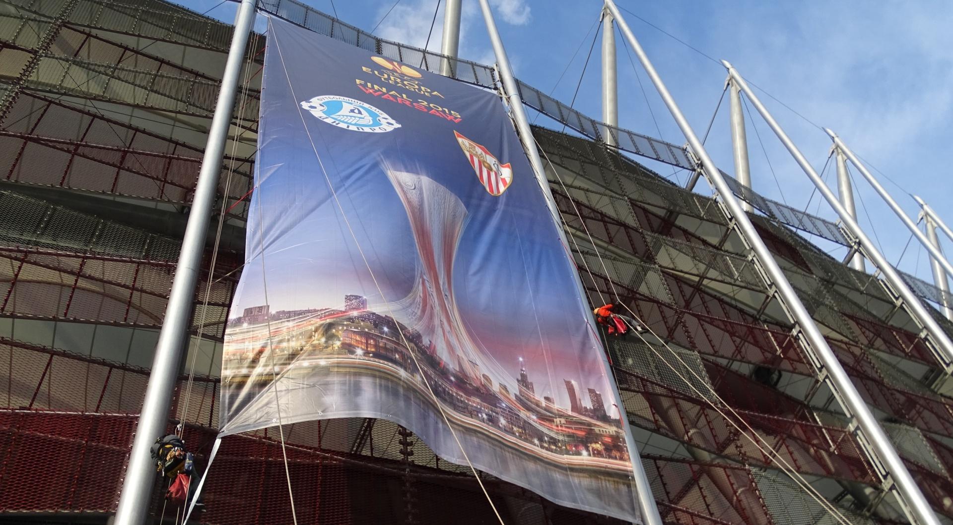Reklama na Stadionie Narodowym